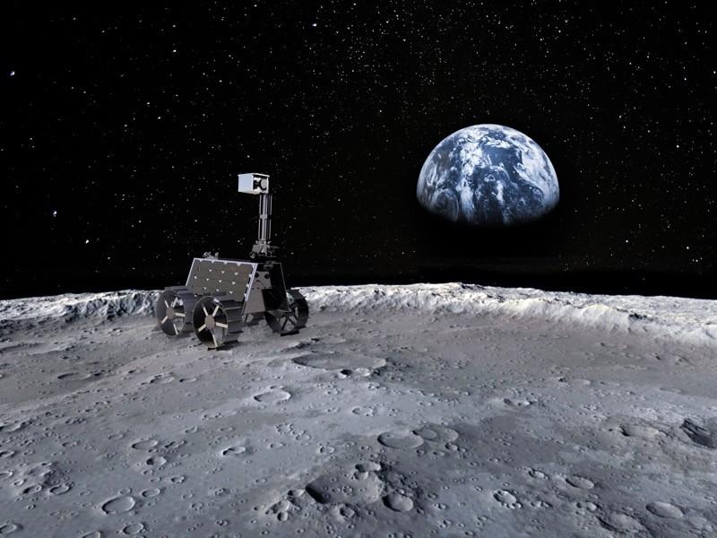 """阿联酋发力太空探索,小型月球车""""拉希德""""2024年登月"""