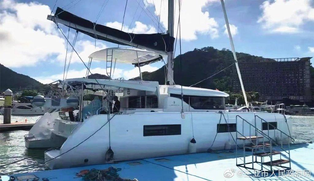 海南首艘免担保进境自驾游艇入境,海关为其免担保金2百余万